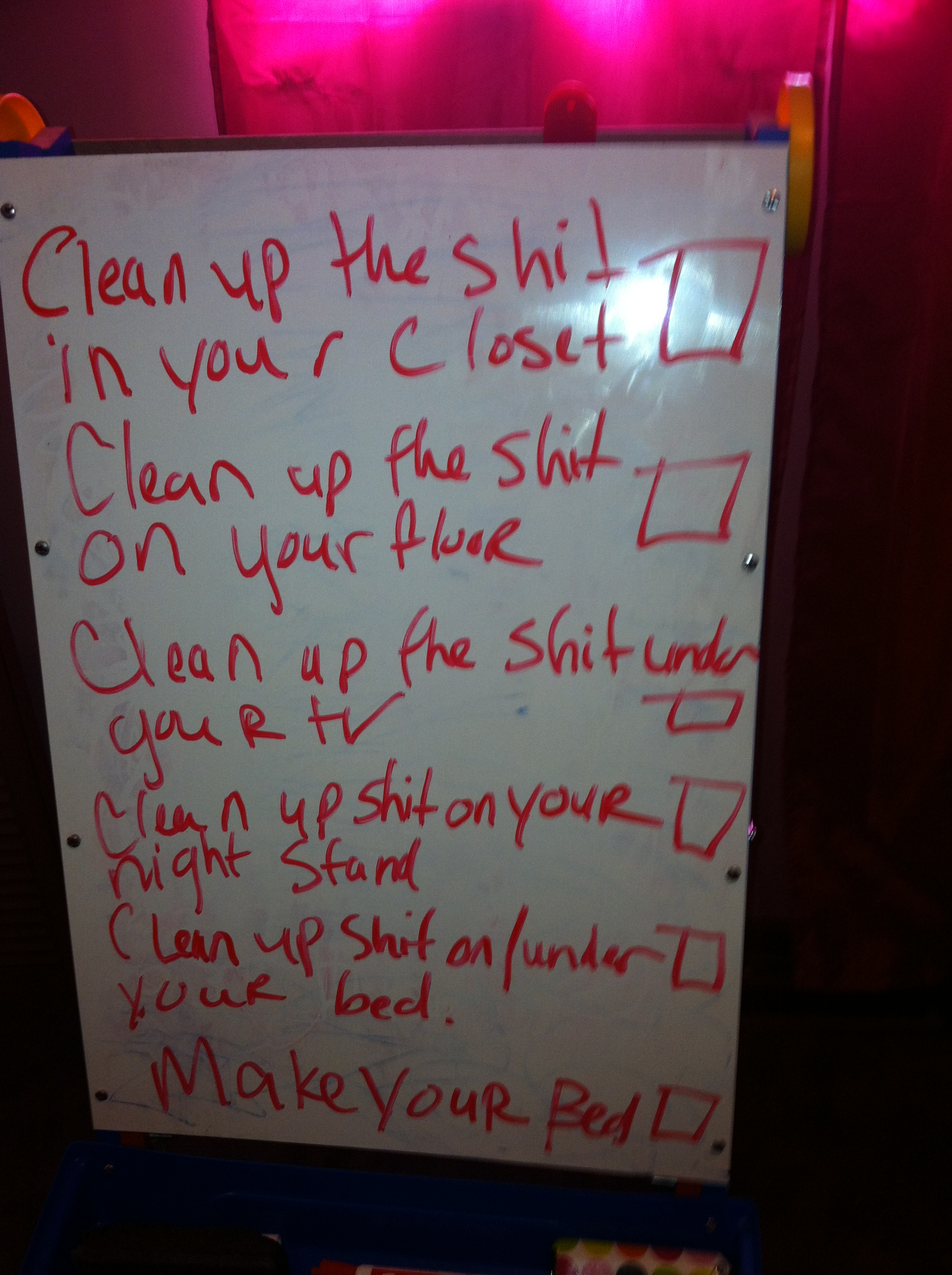 how to clean your room in an hour